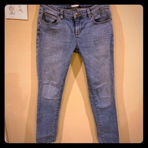 Eileen Fisher slim straight leg jeans women size 2